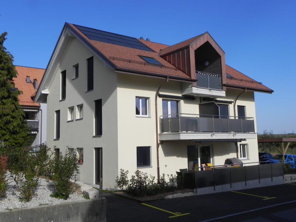 Villars-le-Terroir - Atelier d'architecture Favre & Pelet SA